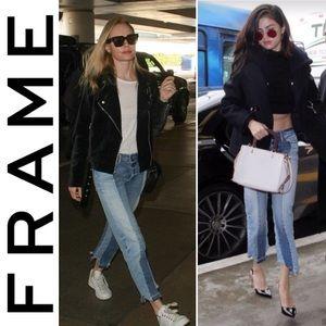 NWT Frame Denim Nouveau Le Mix Boyfriend Jeans